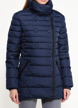 Куртка синяя oodji