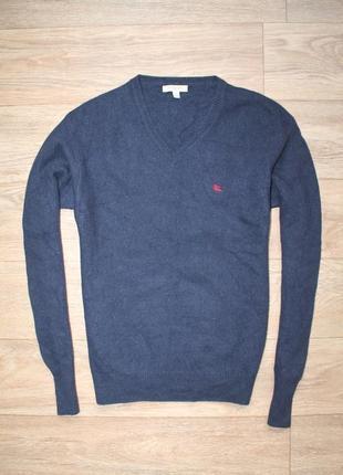 Шикарный оригинальный шерстяной свитер burberry london размер s