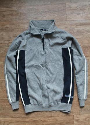 Замечательная кофта от супер бренда givenchy activewear 1/4 zip размер л