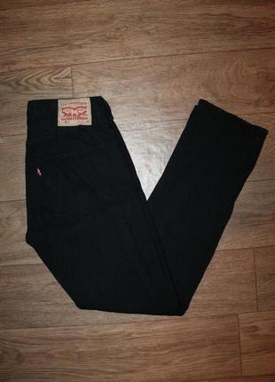 Шикарные качественные оригинальные джинсы levis 501 black размер w31/l32