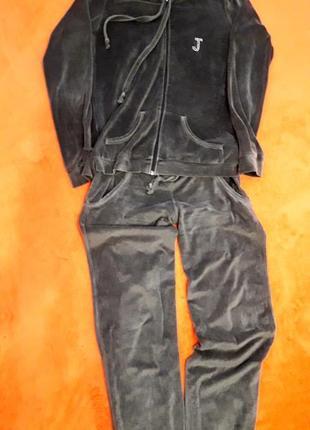 Велюровый тепленький костюмчик