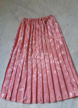 💐готовимся к весне!нежнейшая юбка плиссе m
