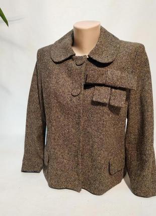 Твидовый жакет пиджак h&m