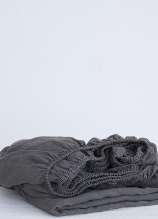 Трикотажная простынь на резинке (160*200 и 200*220)польша