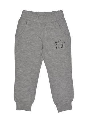 Новые светло-серые брюки-джогеры для девочки, original marines, 36832