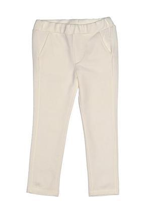 Новые белые брюки-джегинсы для девочки, original marines, 780012