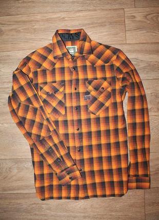 Шикарная качественная рубашка cowboy dangeon shirt от g-star raw m размер