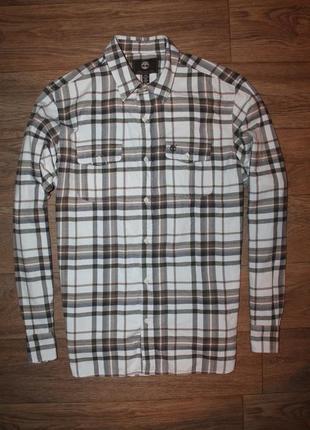 Оригинальная качественная байковая рубашка timberlend размер л