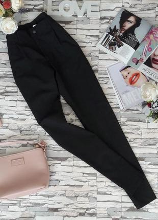 Элегантные темно-серые классические брюки.