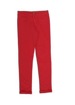 Новые красные спортивные штаны для девочки, united colors of benetton, 04319