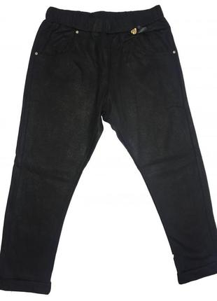Новые леггинсы черные для девочки, original marines, 957044