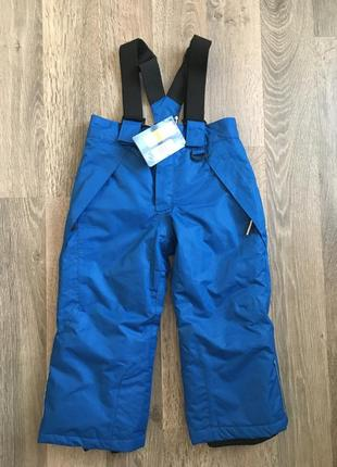 Комбинезон полукомбинезон брюки штани для мальчика 2 г lupilu