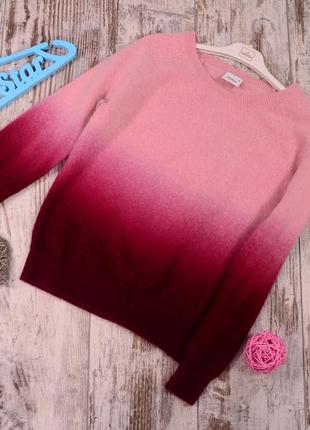 Ангоровый свитер с градиентом. cubus