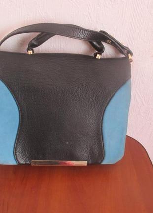 Суперовая фирменная сумочка из кожи