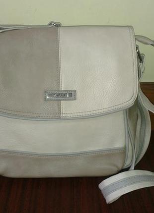 """Кожаная сумка """"simona"""" оригинал"""