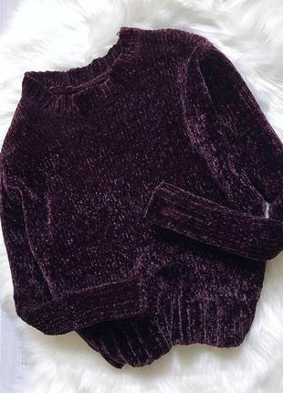 Велюровый свитер primark