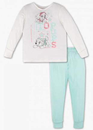 """Новая пижама для девочки """"щенячий патруль"""", c&a, 412/12"""