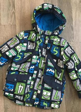 Куртка на флисе для мальчика 3г cool club mountain control