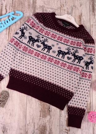 Очень теплый, шерстяный свитер atm