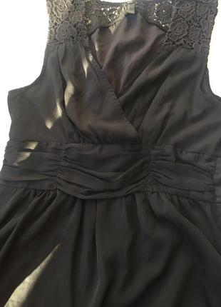 Чёрное платье веро мода