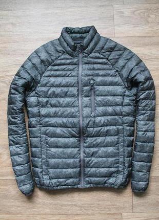 Шикарный стильный пуховик ultra light down jacket от edc размер s