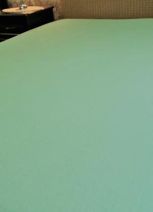 Простынь на резинке трикотаж 160х 200 см (пакистан)
