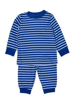 Новая пижама синяя в полоску для мальчика, george, 152603