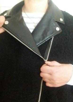 Стильное пальто кейп