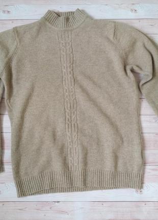 Шикарный шерстяной свитер