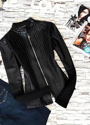 Невероятно стильная итальянская кожанная куртка.