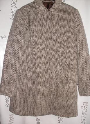 Идеальное пальто, полупальто berkertex прямого силуэта