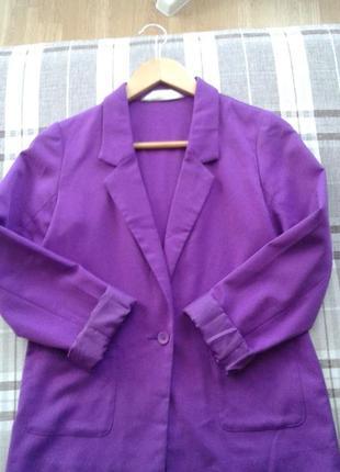 Яркий пиджак для подростка или худенькой мамочки