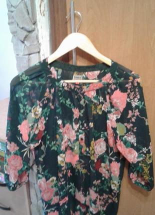 Красивенная блуза свободного кроя