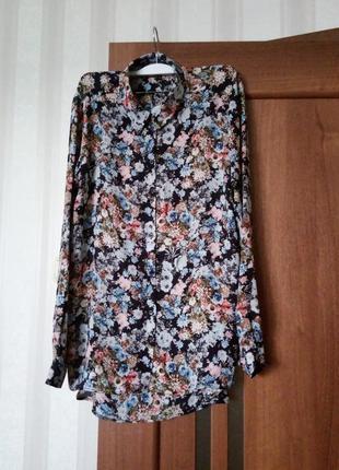 Милая цветочная блуза