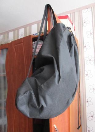 Тканевый рюкзак-торба ооочень вместительный