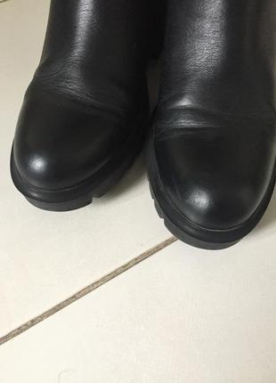Кожаные полуботинки fellini 38 размер