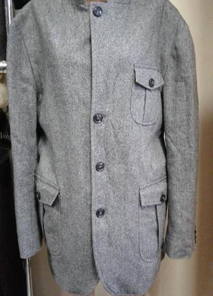 Легкое трендовое пальто/удлиненный пиджак  theo