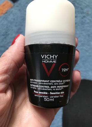 Vichy homme антиперспирант роликовый 72h