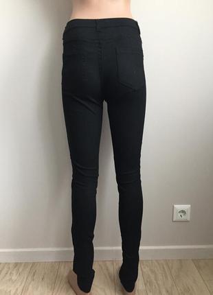 Нарядные чёрные джинсы3 фото