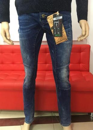 Стильні чоловічі джинси з високою посадкою від mod р-32/34