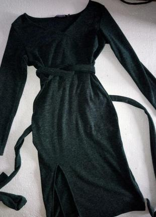 Платье с ангоры.