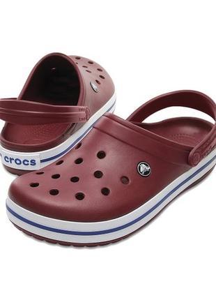 Сабо crocs crocband, w8, w9
