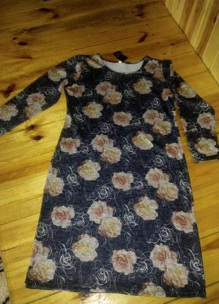 Платье зима р.54