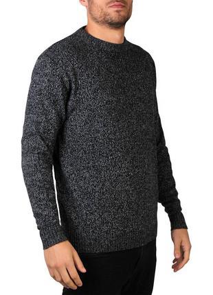 Плотный мужской свитер крупной вязки