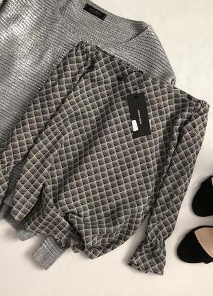 Новая элегантная блуза со спущенными плечами  vero moda