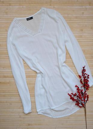 Асимметричная блуза туника janina