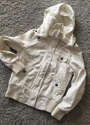 Куртка ветровка джинсовая  vero moda
