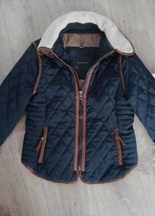 Zara jacket куртка стеганая на синтепоне