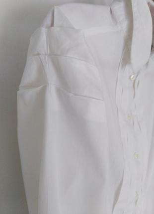 Винтажная рубашка с красивым рукавом))