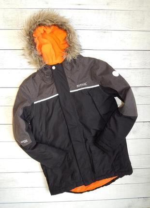Мембранная трекинговая куртка-парка regatta great outdoors isotex 5000.11-12 лет.152 рост
